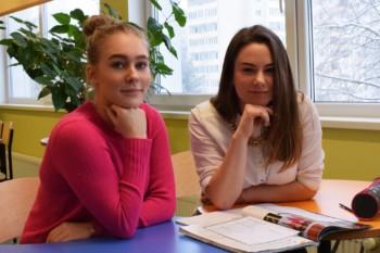 Anastasia tugiisikuks oli Katrin 11. klassist.